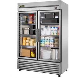 1388 literes üvegajtós, rozsdamentes hűtőszekrény