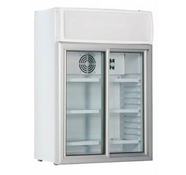 100 literes csúszó üvegajtós hűtőszekrény