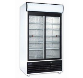 771 literes csúszó üvegajtós hűtőszekrény