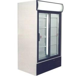 988 literes csúszó üvegajtós hűtőszekrény