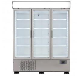 1325 literes üvegajtós szupermarket hűtővitrin