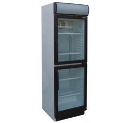 372 literes üvegajtós hűtőszekrény