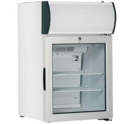 57 literes üvegajtós hűtőszekrény