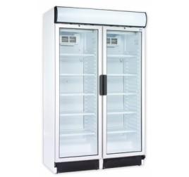 744 literes üvegajtós hűtőszekrény