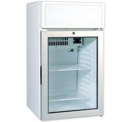 85 literes üvegajtós hűtőszekrény