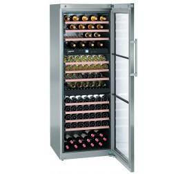 578 literes Liebherr üvegajtós borhűtő (bortemperáló) 3 külön szabályozható hőmérsékleti zónával