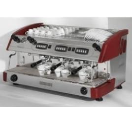Expobar NEW ELEGANCE CONTROL háromkaros kávégép daráló nélkül - bordó