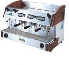 Expobar NEW ELEGANCE CONTROL háromkaros kávégép daráló nélkül - fa borítással