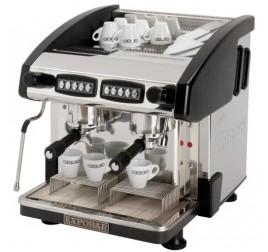 Expobar NEW ELEGANCE MINI CONTROL kétkaros kávégép daráló nélkül - fekete