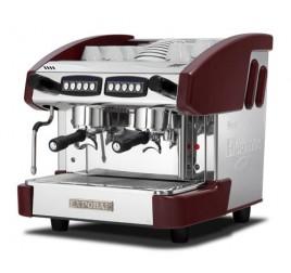 Expobar NEW ELEGANCE MINI CONTROL kétkaros kávégép daráló nélkül - bordó