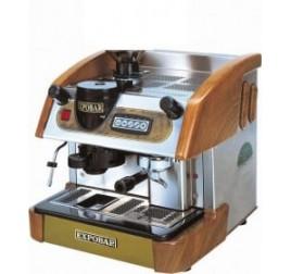 Expobar NEW ELEGANCE MINI CONTROL egykaros kávégép daráló nélkül - fa borítással