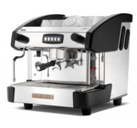 Expobar NEW ELEGANCE MINI CONTROL egykaros kávégép daráló nélkül - fekete