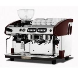 Expobar NEW ELEGANCE CONTROL kétkaros kávégép darálóval - bordó