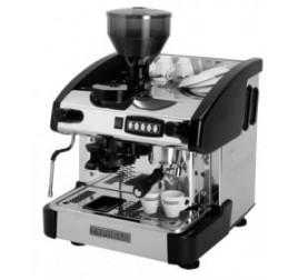 Expobar NEW ELEGANCE MINI CONTROL egykaros kávégép darálóval - fekete