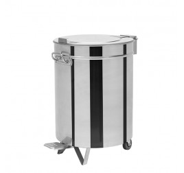 50 literes pedálos hulladék- és moslékgyűjtő