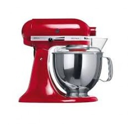 4,8 literes KitchenAid Artisan Premium robotgép - piros