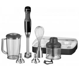 KitchenAid 5 sebességes botmixer garnitúra - onyx fekete