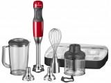 KitchenAid 5 sebességes botmixer garnitúra - piros