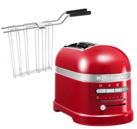 2 szeletes KitchenAid Artisan kenyérpirító - piros
