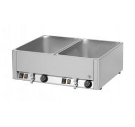 2xGN1/1-es RedFox asztali elektromos melegentartó leeresztőcsappal