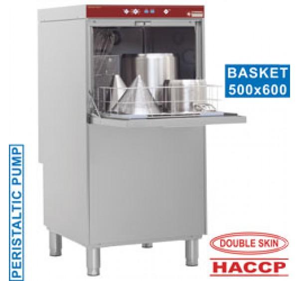 50x60 cm-es Diamond gravitáviós feketeedény mosogatógép