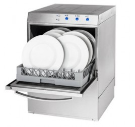 50x50 cm-es gravitációs tányér- és pohármosogatógép