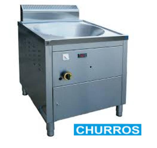 """22 literes Diamond gázüzemű """"turbo"""" churros sütő"""
