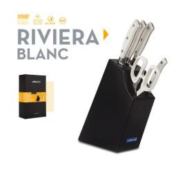 RIVIERA BLANC késkészlet