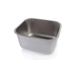 Négyszögletes mosogatómedence 50x40x30 cm-es medencemérettel