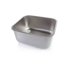 Négyszögletes mosogatómedence 60x50x30 cm-es medencemérettel