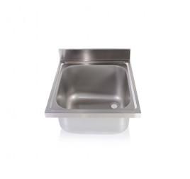 Egymedencés mosogatófedlap 40x50x25 cm-es medencemérettel
