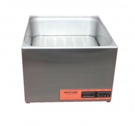 GN2/1-es sous vide keringtető szivattyús temperáló gép