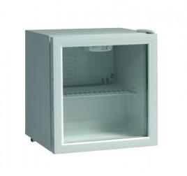 46 literes üvegajtós hűtőszekrény