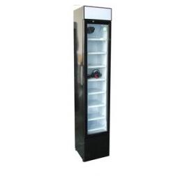 105 literes üvegajtós hűtőszekrény