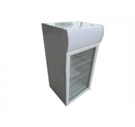 80 literes üvegajtós hűtőszekrény