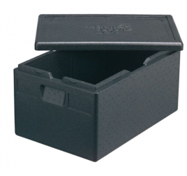 GN1/1-es felültöltős prémium thermobox (61 literes) többféle HACCP által előírt színben rendelhető tetővel