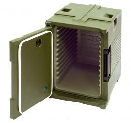 GN1/1 -es elöltöltős thermobox nyíló ajtóval