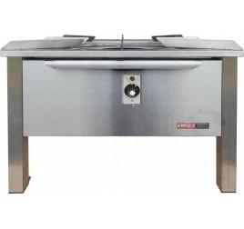 14 kW-os Elekthermax gázüzemű főzőzsámoly