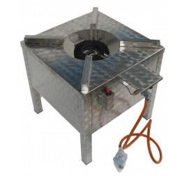 7,5 kW-os gázüzemű főzőzsámoly