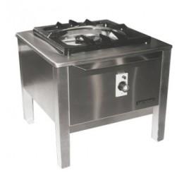 10 kW-os Elekthermax gázüzemű főzőzsámoly