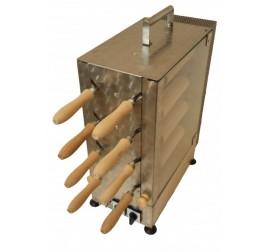 8+8 sütőfás elektromos kürtőskalács sütő gép