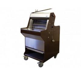 Gasztrometál félautomata kenyérszeletelő gép gördíthető állvánnyal