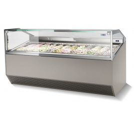 18 tégelyes ISA fagylaltpult
