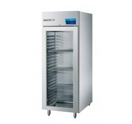 570 literes Cool Compact üvegajtós hűtőszekrény rozsdamentes külsővel és belsővel