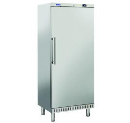 400 literes Cool Head teli ajtós cukrászati hűtőszekrény rozsdamentes külsővel