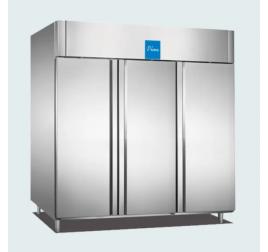 2100 literes teli ajtós rozsdamentes mélyhűtő szekrény