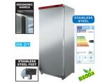 600 literes Diamond hűtőszekrény rozsdamentes külsővel