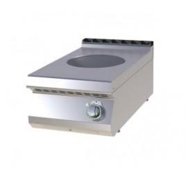 1 zónás nagy teljesítményű indukciós wok RedFox asztali elektromos tűzhely