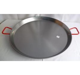 70 cm-es paella sütő tál, polírozott